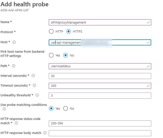 Health probe