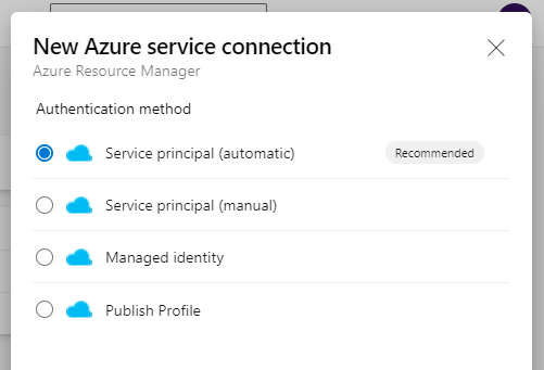 Automatic Service Connector GUI